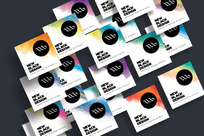 newblack-business-cards